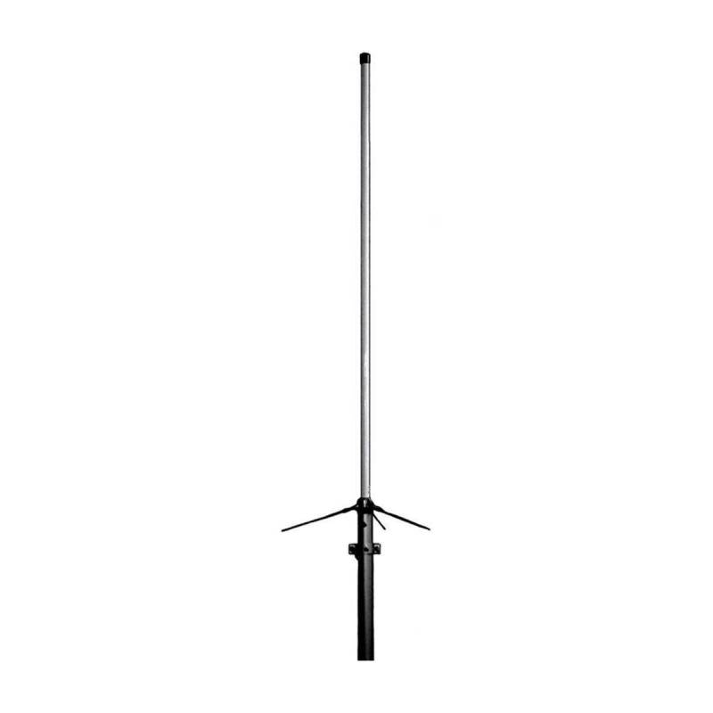 Antena base vertical bibanda Original X-50-NW 4.5dB VHF y 7.2dB UHF