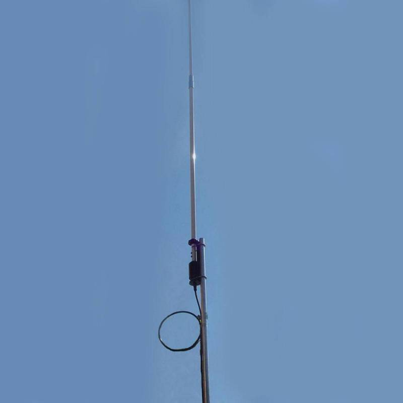 Antena base vertical HF Original OUT-250-F 3.5 a 57 Mhz. 250W 7.16 m