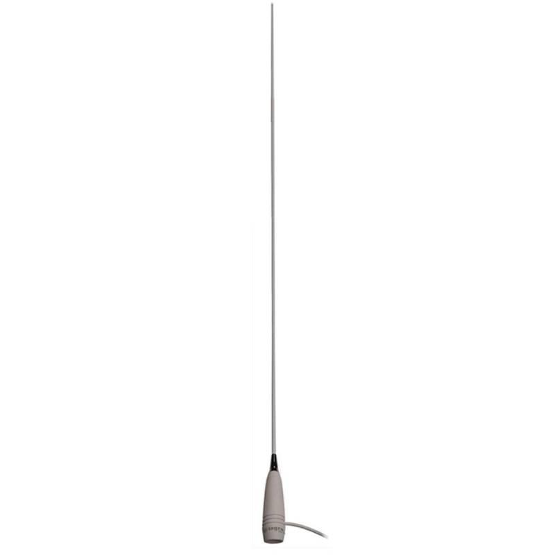 Antena marina VHF Tagra ANS-12 200W 6dB 1.94 m con 5.5 m de cable